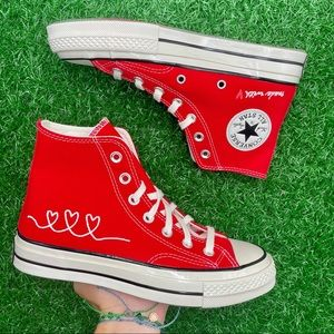 Converse All Star Chuck 70 Hi Made With Love ❤️